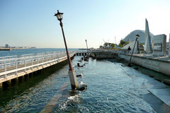 Memoriale di terremoto di Kobe Immagine Stock