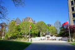 Memoriale di Toronto in città Immagine Stock