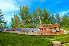 Memoriale di Tsunami Fotografie Stock Libere da Diritti