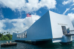 Memoriale di USS Arizona Immagini Stock Libere da Diritti