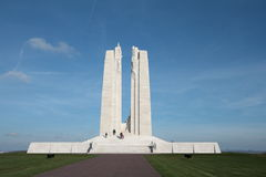 Memoriale di Vimy in Francia Immagini Stock