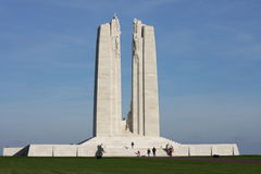 Memoriale di Vimy in Francia Fotografie Stock