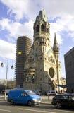 Memoriale di Wilhelm Berlino Germania del kaiser della chiesa Immagini Stock Libere da Diritti