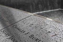 Memoriale di WTC Immagini Stock