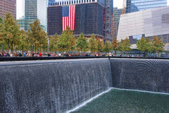 Memoriale di WTC 9-11 Fotografie Stock Libere da Diritti