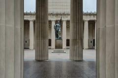Memoriale di WWI Fotografia Stock