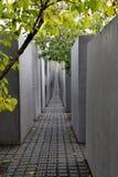 Memoriale ebreo Berlino di olocausto Immagini Stock