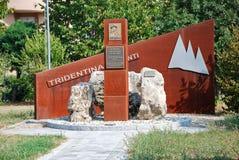 Memoriale a generale Reverberi Immagini Stock Libere da Diritti