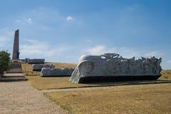 Memoriale grave di Saur Fotografia Stock Libera da Diritti