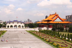 Memoriale Hall Taiwan di Chiang Kai-shek fotografia stock libera da diritti