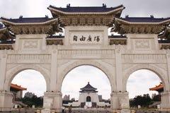 Memoriale Hall Taiwan di Chiang Kai-shek immagine stock