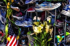 Memoriale maratona di Boston Fotografia Stock