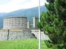 Memoriale militare di Passo Resia Immagine Stock