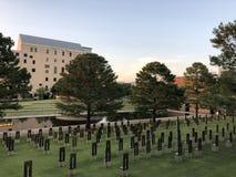 Memoriale & museo nazionali di Oklahoma City fotografia stock libera da diritti