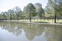 Memoriale & museo nazionali di Oklahoma City fotografie stock libere da diritti
