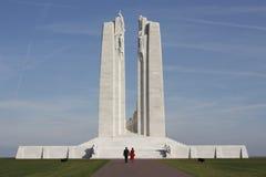 Memoriale nazionale canadese di Vimy Fotografie Stock Libere da Diritti