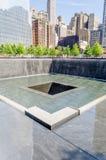 Memoriale nazionale dell'11 settembre Fotografia Stock Libera da Diritti