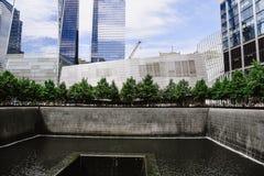 Memoriale nazionale dell'11 settembre in New York Fotografia Stock