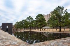 Memoriale nazionale di Oklahoma City a Oklahoma City, GIUSTO immagini stock libere da diritti