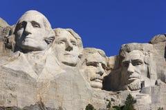 Memoriale nazionale di Rushmore del supporto Immagine Stock