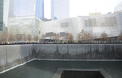 Memoriale New York di ground zero Fotografia Stock Libera da Diritti