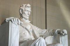 Memoriale o monumento di Lincoln Immagini Stock