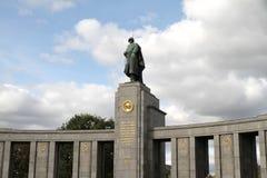 Memoriale per i soldati sovietici Fotografia Stock