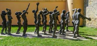 Memoriale per le vittime di comunismo a Sighet immagine stock libera da diritti