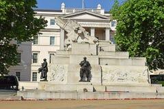 Memoriale reale dell'artiglieria, Hyde Park Corner a Londra centrale, Regno Unito Immagine Stock Libera da Diritti