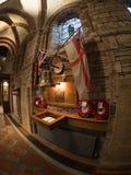Memoriale reale della quercia di HMS in st Magnus Cathedral Fotografia Stock