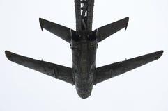 Memoriale sovietico dell'aereo da caccia Fotografia Stock