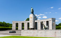 Memoriale sovietico di guerra mondiale 2 a Berlino Fotografia Stock Libera da Diritti