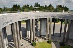 Memoriale sulla collina di Mardasson Immagine Stock Libera da Diritti
