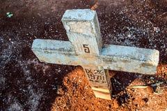 Memoriale a terra Fotografie Stock Libere da Diritti