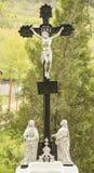 Memoriale trasversale religioso Immagini Stock Libere da Diritti