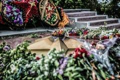Memoriale, Victory Day Fotografia Stock