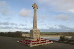 Memoriale WW1 immagini stock