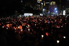 Memoriali per le proteste della Piazza Tiananmen Fotografie Stock Libere da Diritti