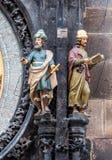 Memorialist and Stargazer figures Royalty Free Stock Photo