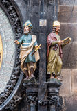 Memorialisten och dagdrömmaren figurerar Royaltyfri Foto