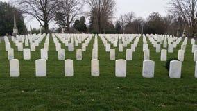 In Memoriam. Civil War Cemetery in Kentucky stock images