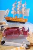 Memorias agradables de las vacaciones de verano Imagen de archivo libre de regalías