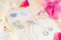 Memorias de la boda Fotografía de archivo libre de regalías