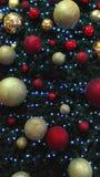 Memorias de la celebración de las bolas de Christmans buenas fotos de archivo libres de regalías
