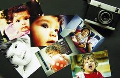 Memorias de la niñez fotografía de archivo