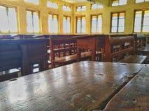 Memorias de la sala de clase en una imagen fotos de archivo libres de regalías
