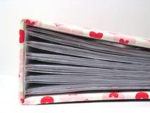 Memorias de la tarjeta del día de San Valentín Imagen de archivo