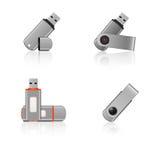 Memorias USB del USB Imagenes de archivo