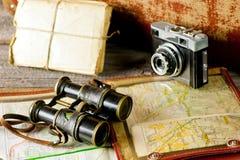Memorie d'annata di viaggio Fotografia Stock Libera da Diritti