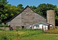Memorie dell'azienda agricola e del cortile Fotografia Stock